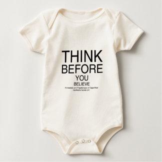 TBYB - Humanists White Baby Bodysuit