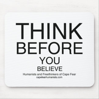 TBYB - Humanists White Mouse Pad