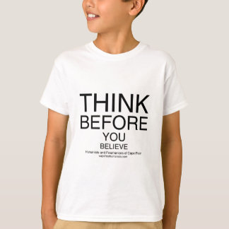 TBYB - Humanists White T-Shirt