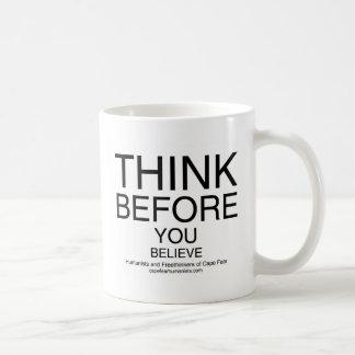 TBYB - White Coffee Mug