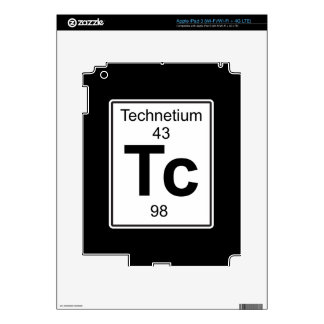 Tc - Technetium iPad 3 Decal