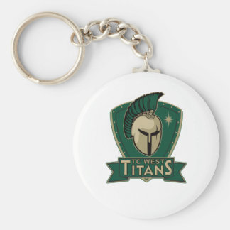 TC West Keychain