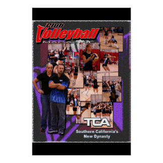 TCA Club Volleyball MAG Cover Poster