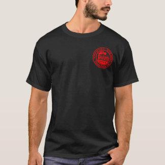TCB - Negro de la camiseta de las alas del TCB de