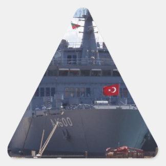 TCG ISKANDERUN A-1600 TRIANGLE STICKER