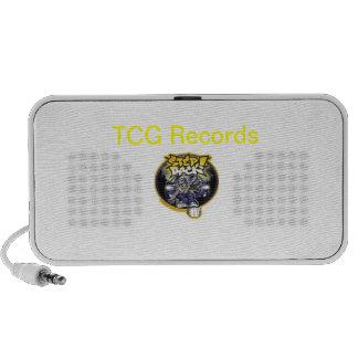 TCG Records Speaker