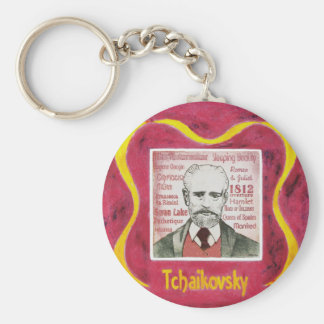 Tchaikovsky key ring