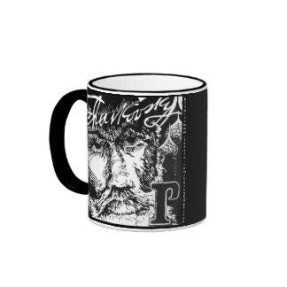 Tchaikovsky Linoleum Cut Mug