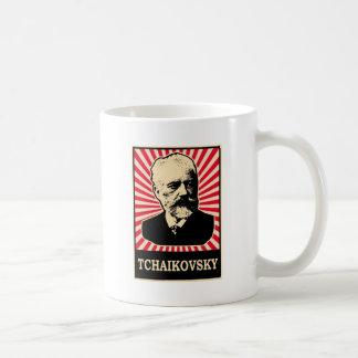 Tchaikovsky Classic White Coffee Mug