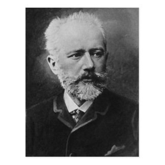 Tchaikovsky Photo Portrait Postcard