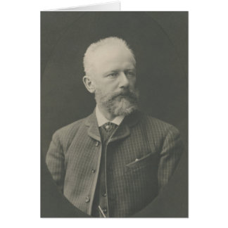Tchaikovsky Portrait Card