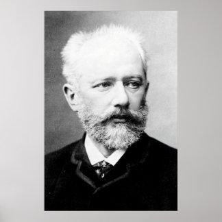 Tchaikovsky Portrait Poster