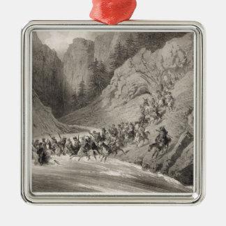 Tcherkersseians on a Raid near the Black Sea, plat Christmas Ornament