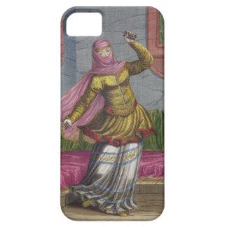 Tchinguis, or Turkish dancer, 18th century (engrav iPhone 5 Cases