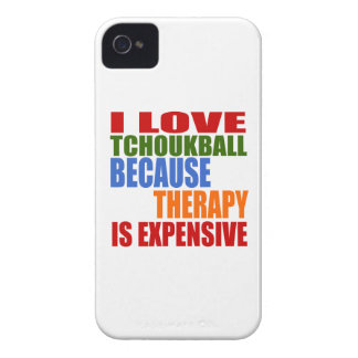 Tchoukball Is My Therapy Case-Mate iPhone 4 Case