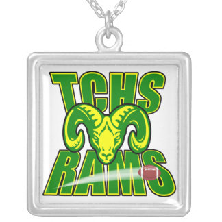 TCHS Rams football Necklace