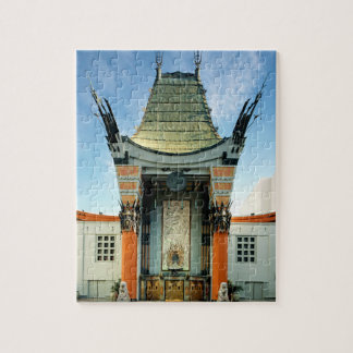 TCL Chinese Theatre Hollywood Jigsaw Puzzle