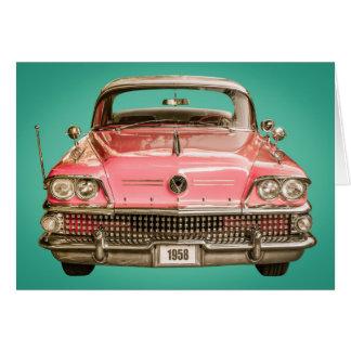 tClassic Buick 1958 Century Car Card