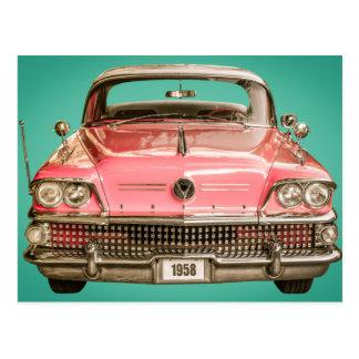 tClassic Buick 1958 Century Car Postcard