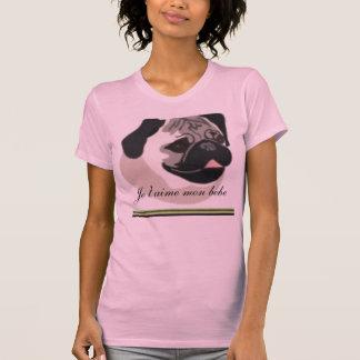 tclip2, Je t'aime mon bebe  - Customized T-Shirt
