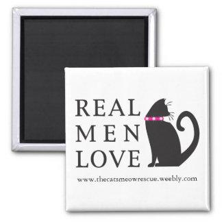 "TCMR ""Real Med Love Cats"" Magnet"