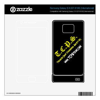 TCPS Samsung Galaxy S II Skin