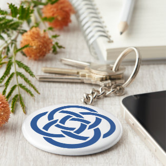 TCSPP Basic Button Keychain