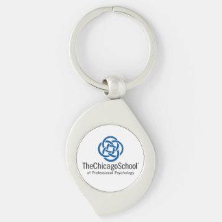 TCSPP Swirl Metal Keychain