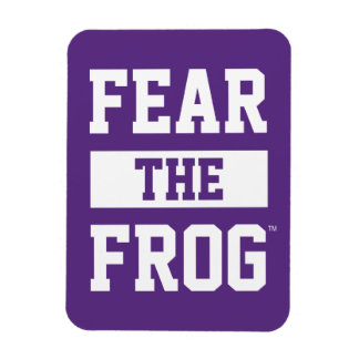 TCU Fear The Frog Magnet