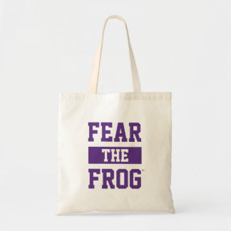 TCU Fear The Frog Tote Bag