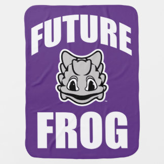 TCU Future Frog Swaddle Blanket