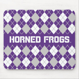 TCU Horned Frogs   Argyle Mouse Pad