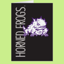 TCU Horned Frogs Card