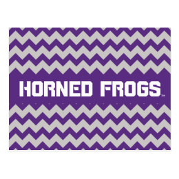 TCU Horned Frogs | Chevron Postcard