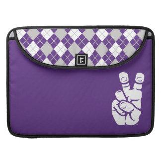 TCU Horned Frogs Hand Symbol | Argyle MacBook Pro Sleeve