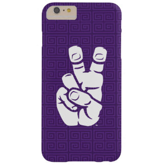 TCU Horned Frogs Hand Symbol | Greek Key Barely There iPhone 6 Plus Case