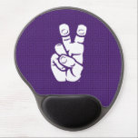 "TCU Horned Frogs Hand Symbol | Greek Key Gel Mouse Pad<br><div class=""desc"">These Texas Christian University products make the perfect gift for the TCU fans,  faculty,  students,  and alumni. Celebrate your TCU pride in style with these customizable Horned Frogs gifts from Zazzle.</div>"