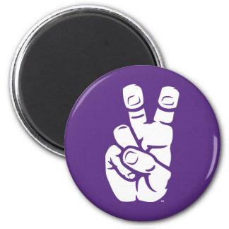 TCU Horned Frogs Hand Symbol Magnet