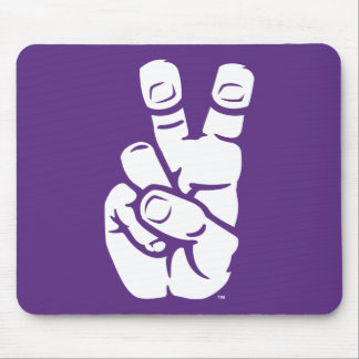 TCU Horned Frogs Hand Symbol Mouse Pad