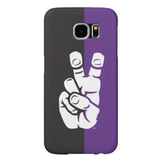 TCU Horned Frogs Hand Symbol Samsung Galaxy S6 Case