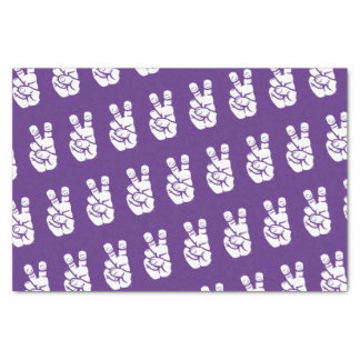 TCU Horned Frogs Hand Symbol Tissue Paper