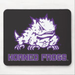 "TCU Horned Frogs Mouse Pad<br><div class=""desc"">These Texas Christian University products make the perfect gift for the TCU fans,  faculty,  students,  and alumni. Celebrate your TCU pride in style with these customizable Horned Frogs gifts from Zazzle.</div>"
