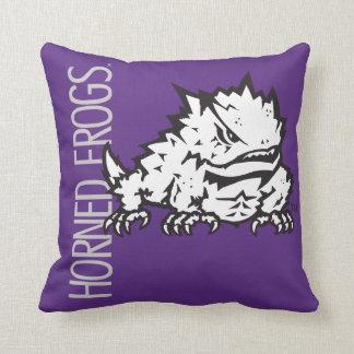 TCU Horned Frogs Throw Pillow
