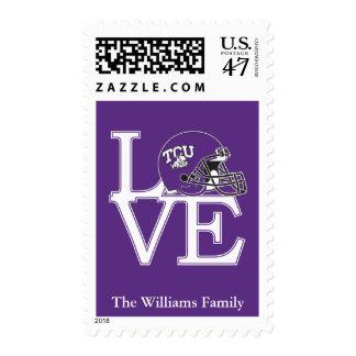 TCU Love Postage