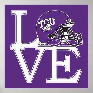 TCU Love Poster