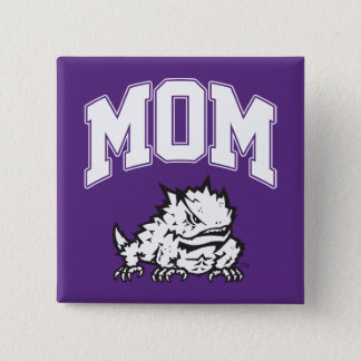 TCU Mom Pinback Button