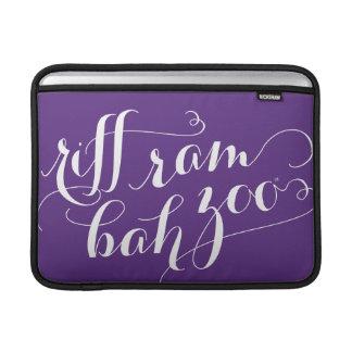 TCU Riff Ram Bah Zoo Script MacBook Air Sleeve