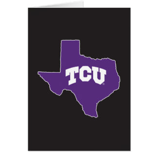 TCU Texas State Card