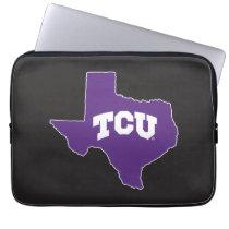 TCU Texas State Computer Sleeve