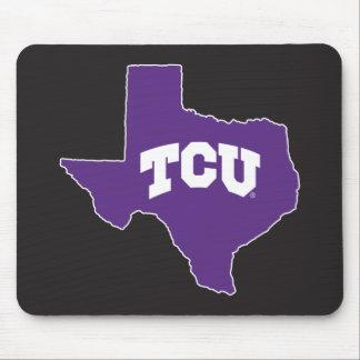TCU Texas State Mouse Pad